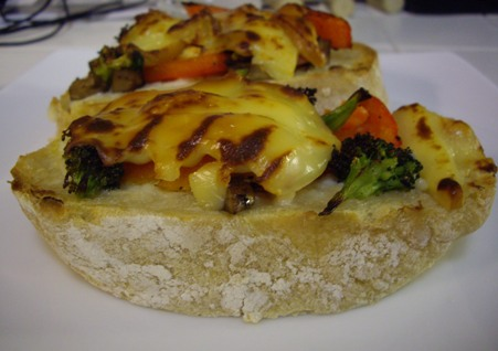 On Tuesday I cooked Portobello,Broccoli, and Red Pepper Melts . This ...